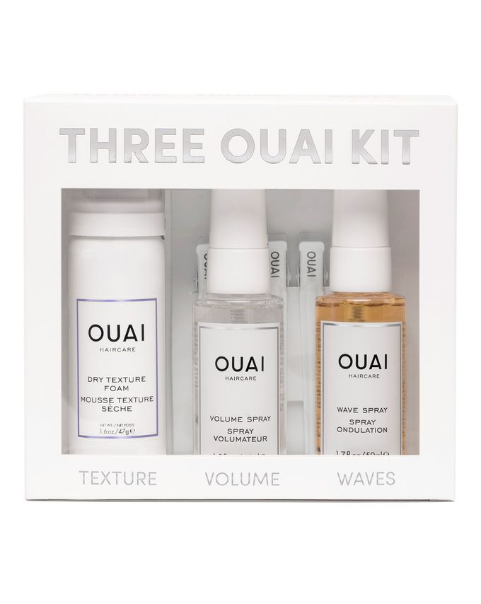 OUAI Haircare Three OUAI kit