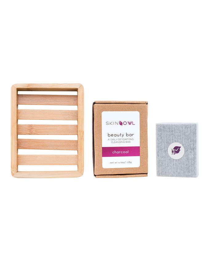 SkinOwl Beauty Bar Kit (Peppermint & Charcoal)