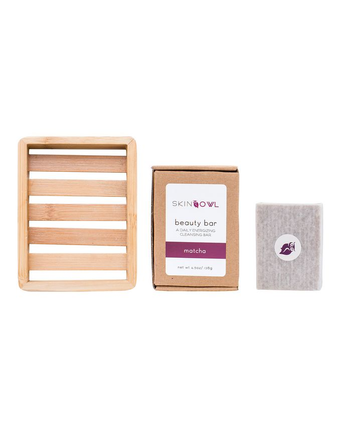 SkinOwl Beauty Bar Kit (Matcha Tea & Cocoa Butter)