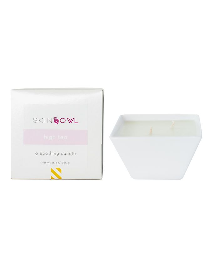 SkinOwl High Tea Candle