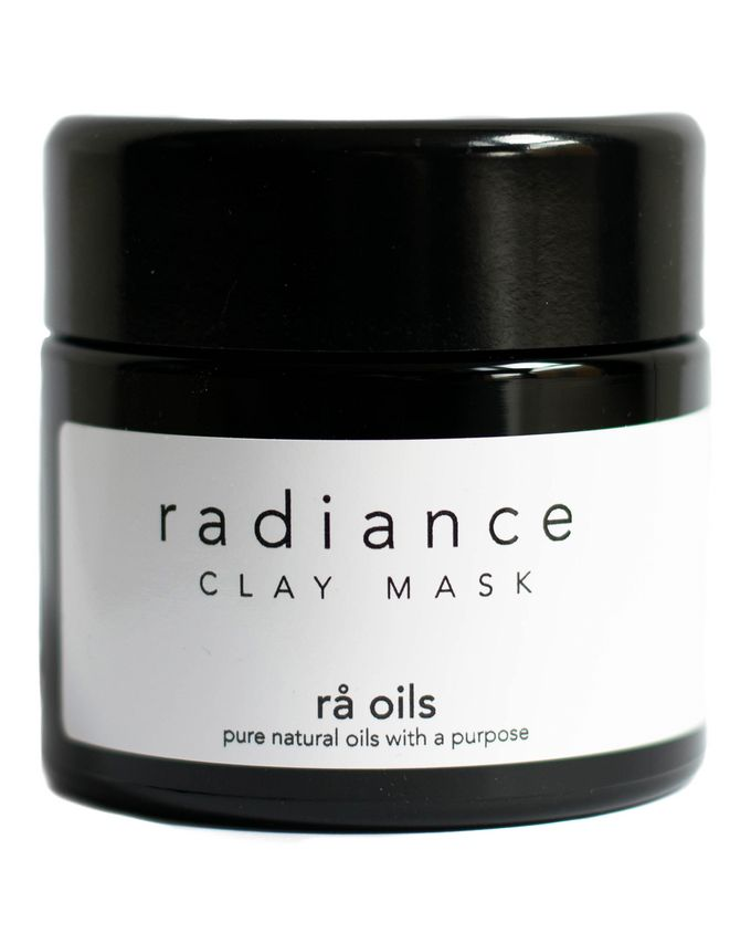 rå oils Radiance Clay Mask