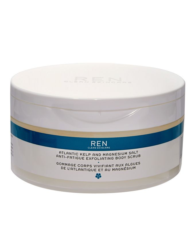 REN CLEAN SKINCARE Atlantic Kelp and Magnesium Anti-Fatigue Body Scrub