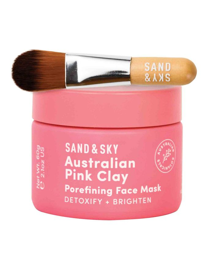 Sand&Sky Brilliant Skin Purifying Pink Clay Mask