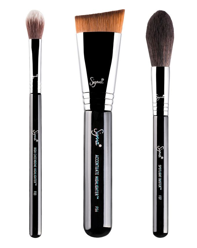 Sigma Beauty Highlight Expert Brush Set
