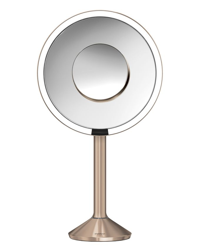 simplehuman Rose Gold Sensor Mirror 8