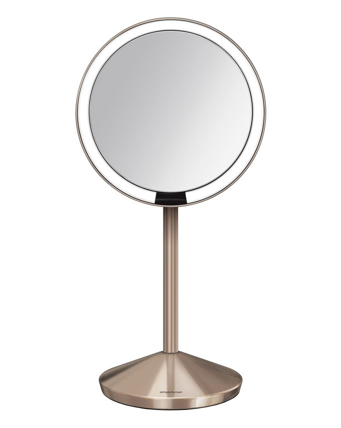 simplehuman Rose Gold Sensor Mirror 5