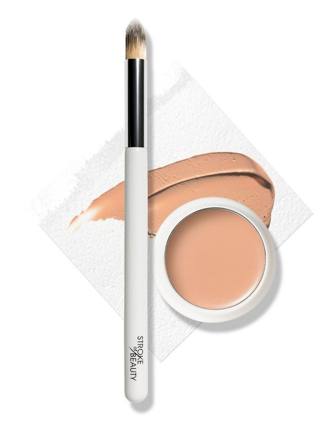 STROKE of BEAUTY Skin Finish Concealer Kit (Concealer + Brush)