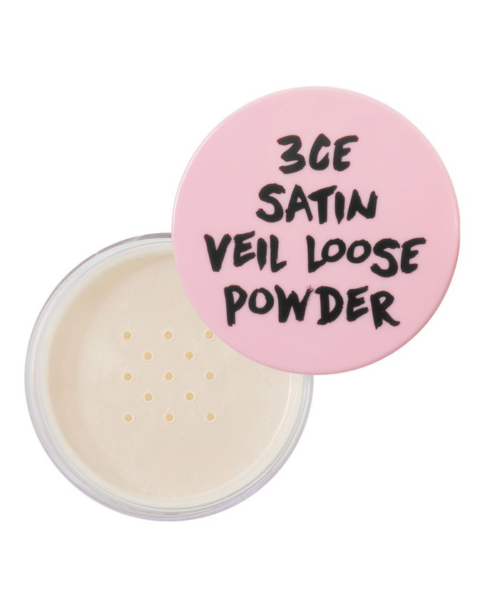 3 Concept Eyes Pink Rumour Satin Chiffon Loose Powder