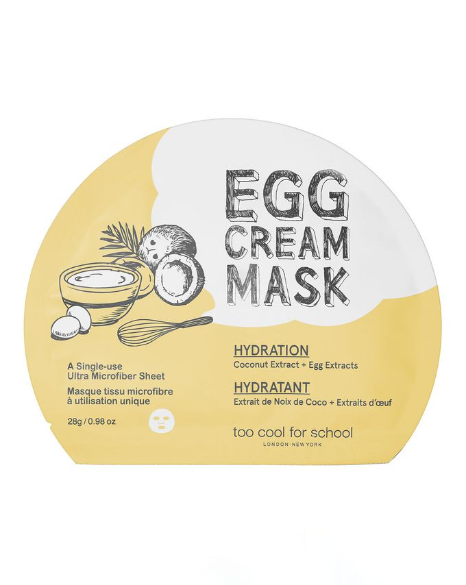 Too Cool For School Egg Cream Mask Hydration