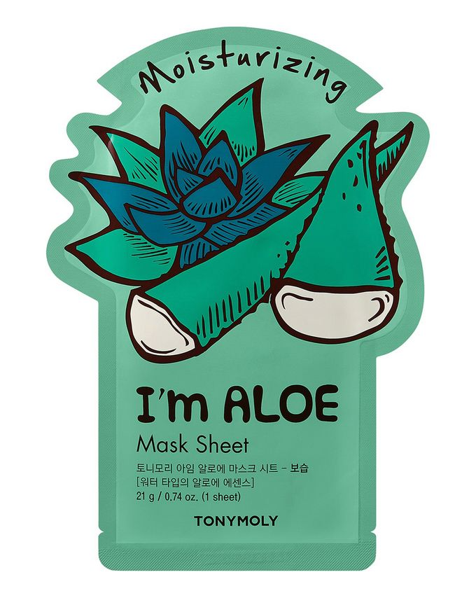 TONYMOLY I'm Real Mask - Aloe