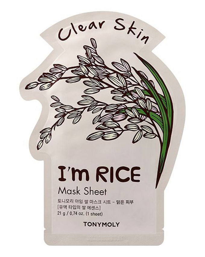 TONYMOLY I'm Real Mask - Rice