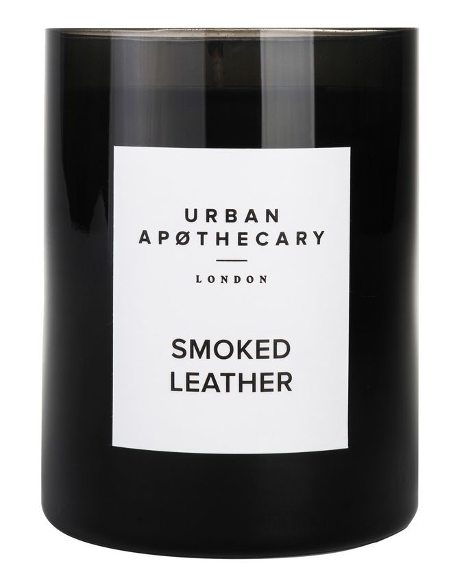 Urban Apothecary Smoked Leather Luxury Candle