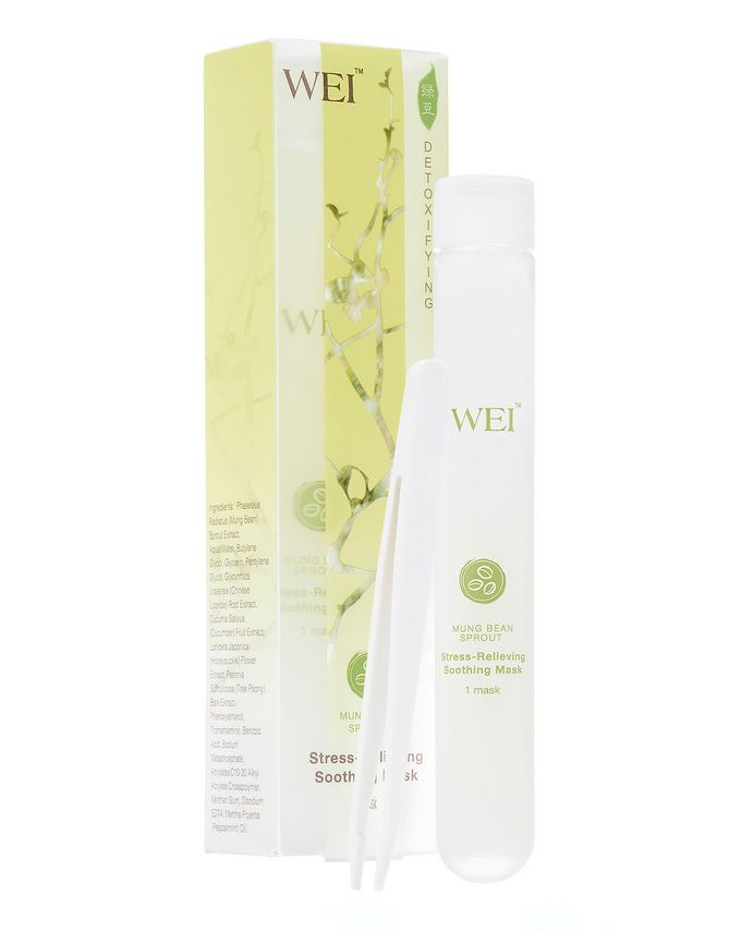 WEI Beauty Mung Bean Sprout Stress Relieving Soothing Mask