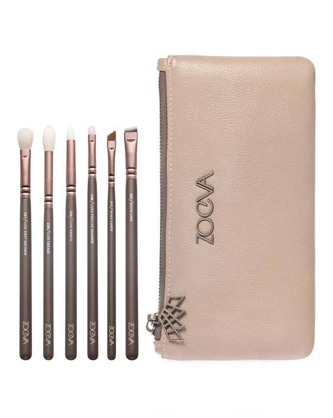 ZOEVA En Taupe Brush Set