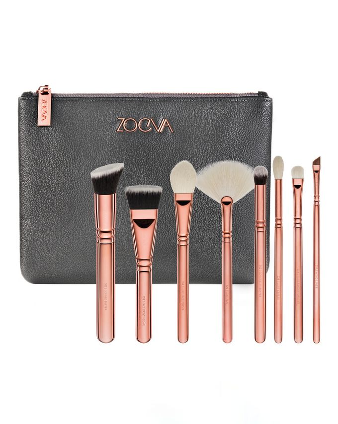 ZOEVA Rose Golden Luxury Brush Set - Volume 3
