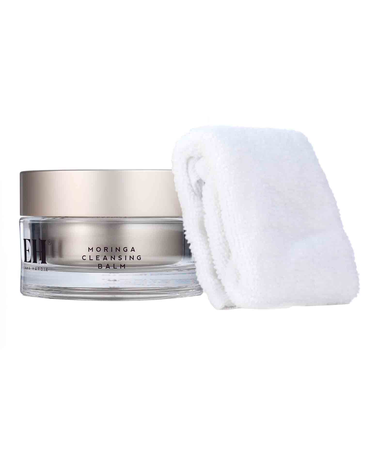 Moringa Cleansing Balm with Cleansing Cloth by Emma Hardie Skincare