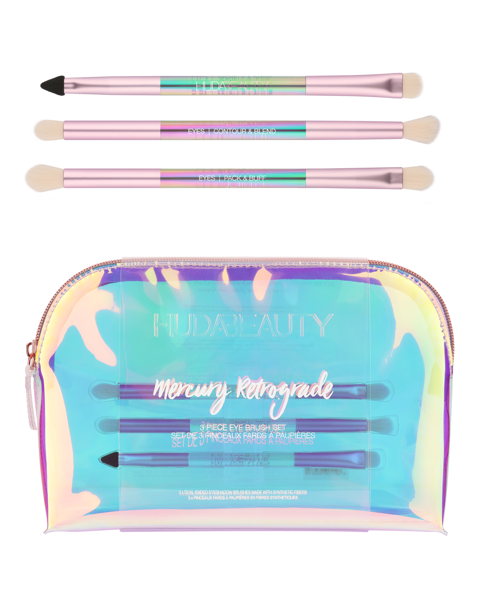 Mercury Retrograde Brush Kit by Huda Beauty