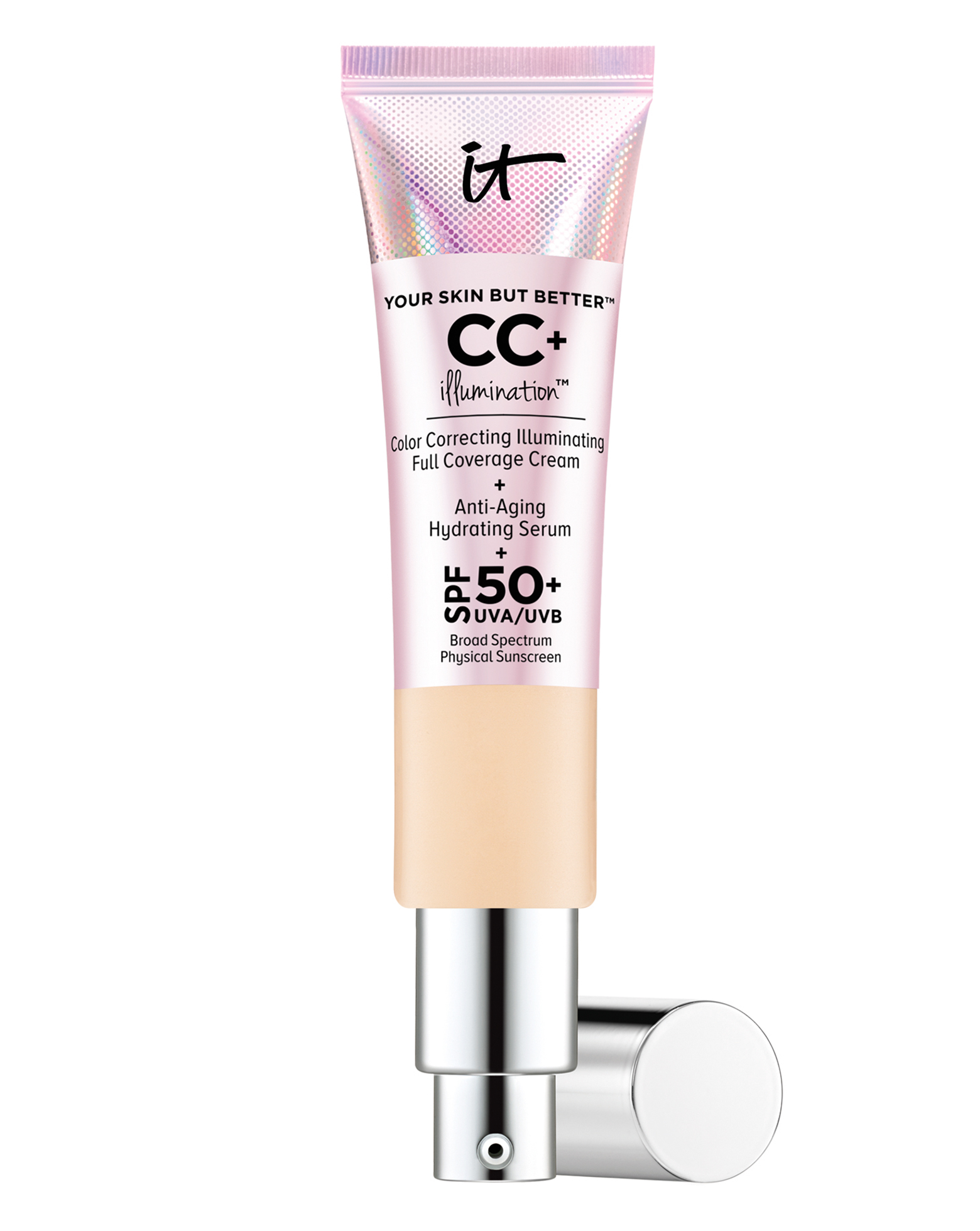984b797ba5324 IT Cosmetics. Your Skin But Better CC+ Illumination SPF 50+
