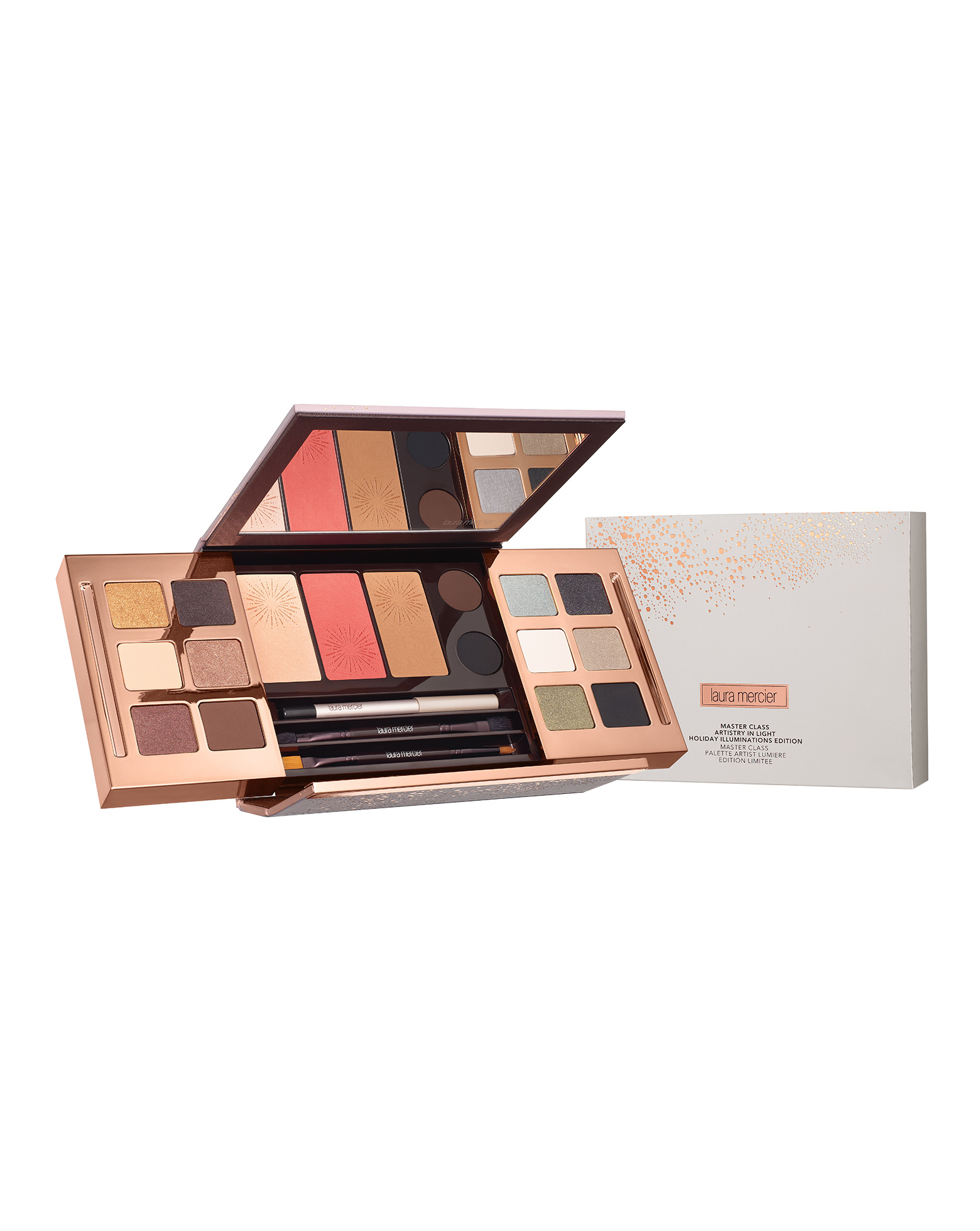Laura Mercier Light Holiday Illuminations Master Class Artistry Palette - No Color