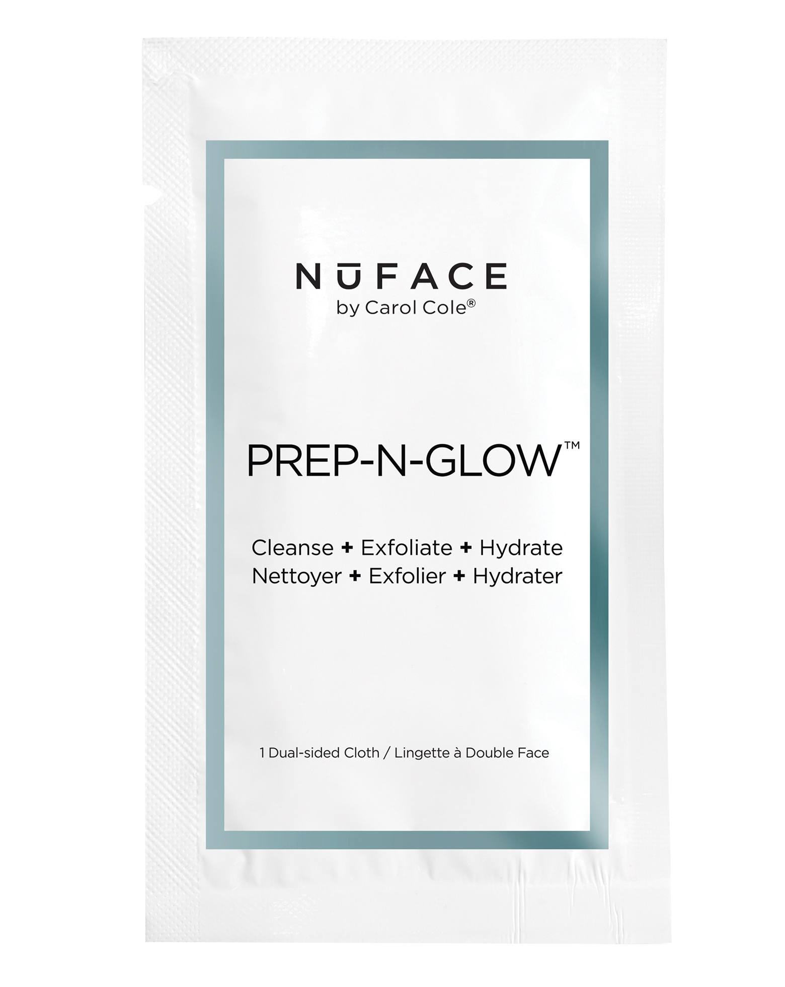 Nuface Prep N Glow Cloths Cult Beauty Facial Mask