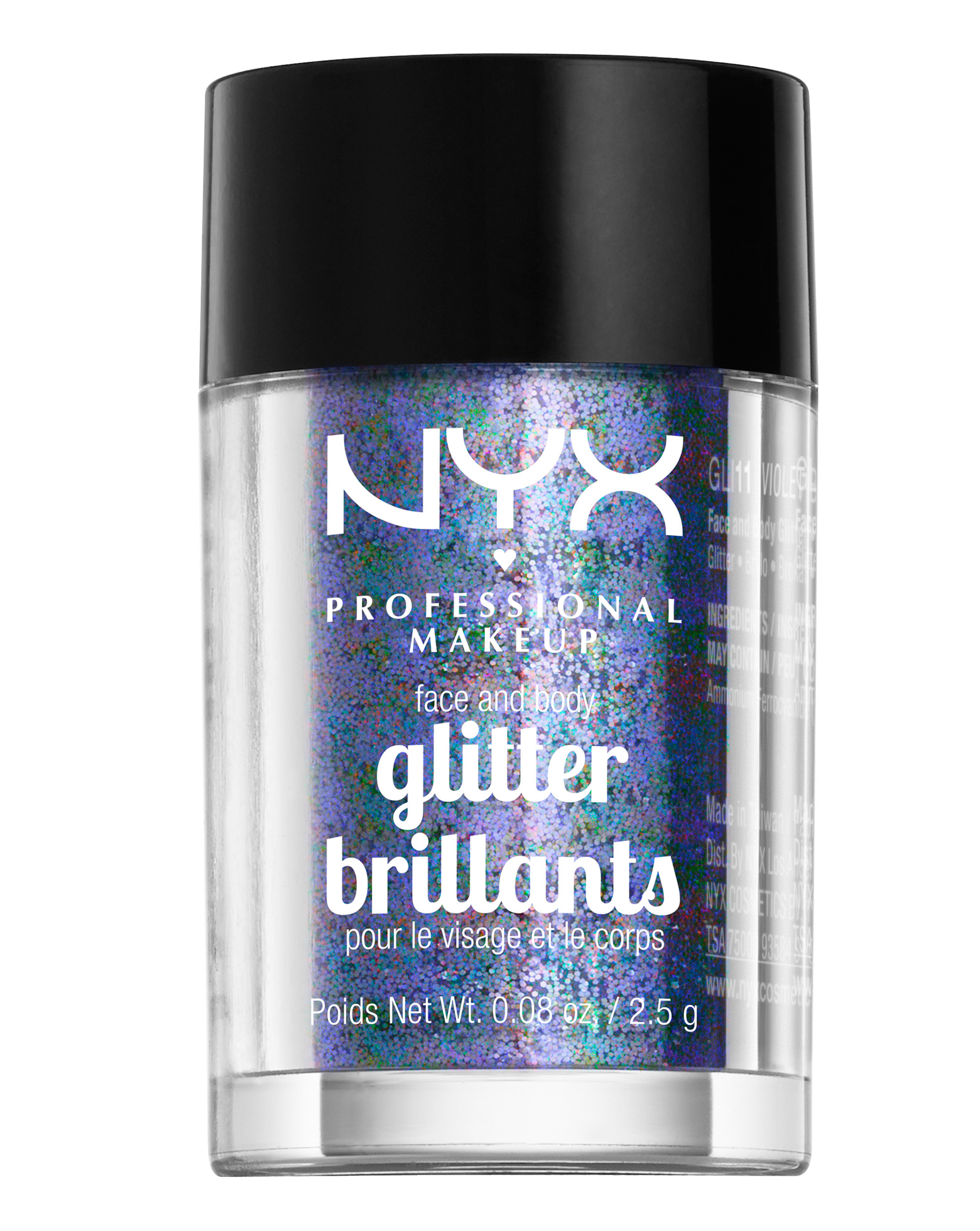 NYX Professional Makeup Face And Body Glitter Brilliants