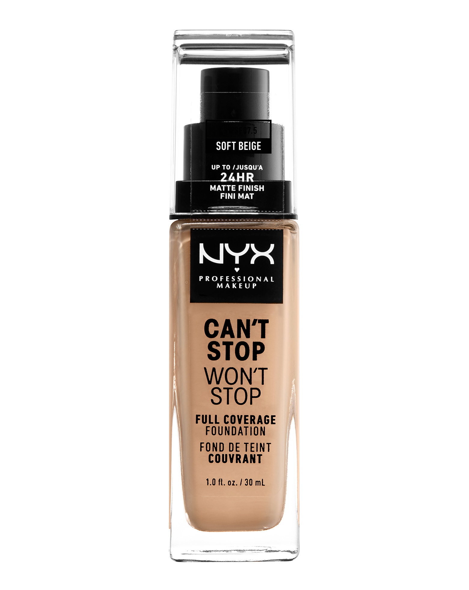 Can't Stop Won't Stop 24 Hour Foundation by NYX Professional Makeup