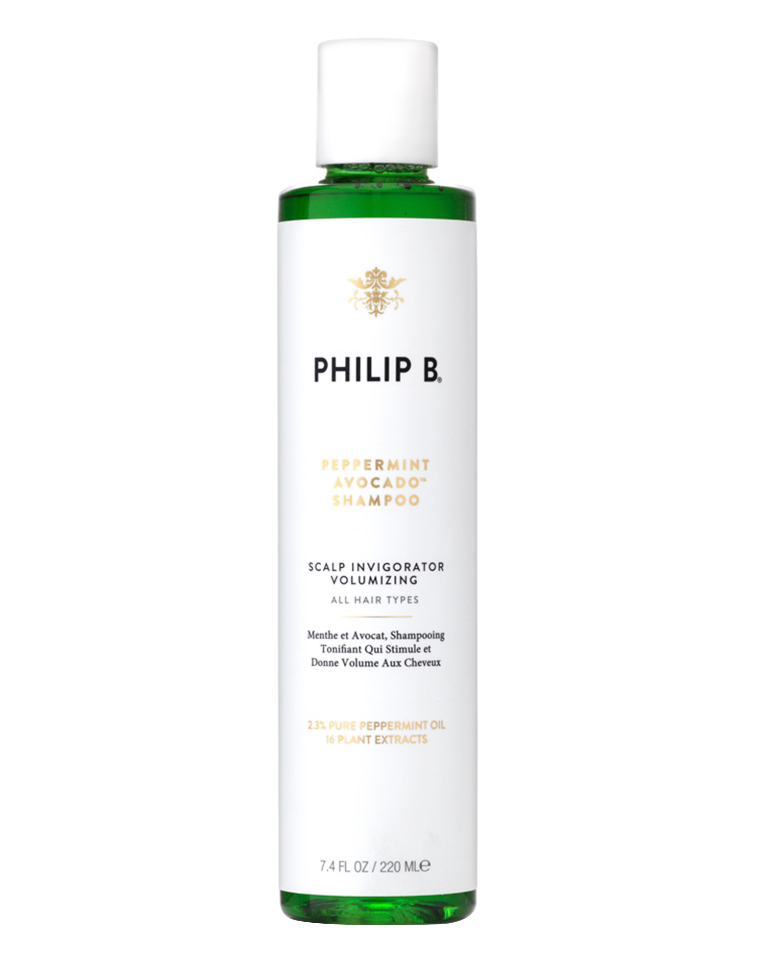 Philip B | Peppermint & Avocado Clarifying Shampoo | Cult Beauty