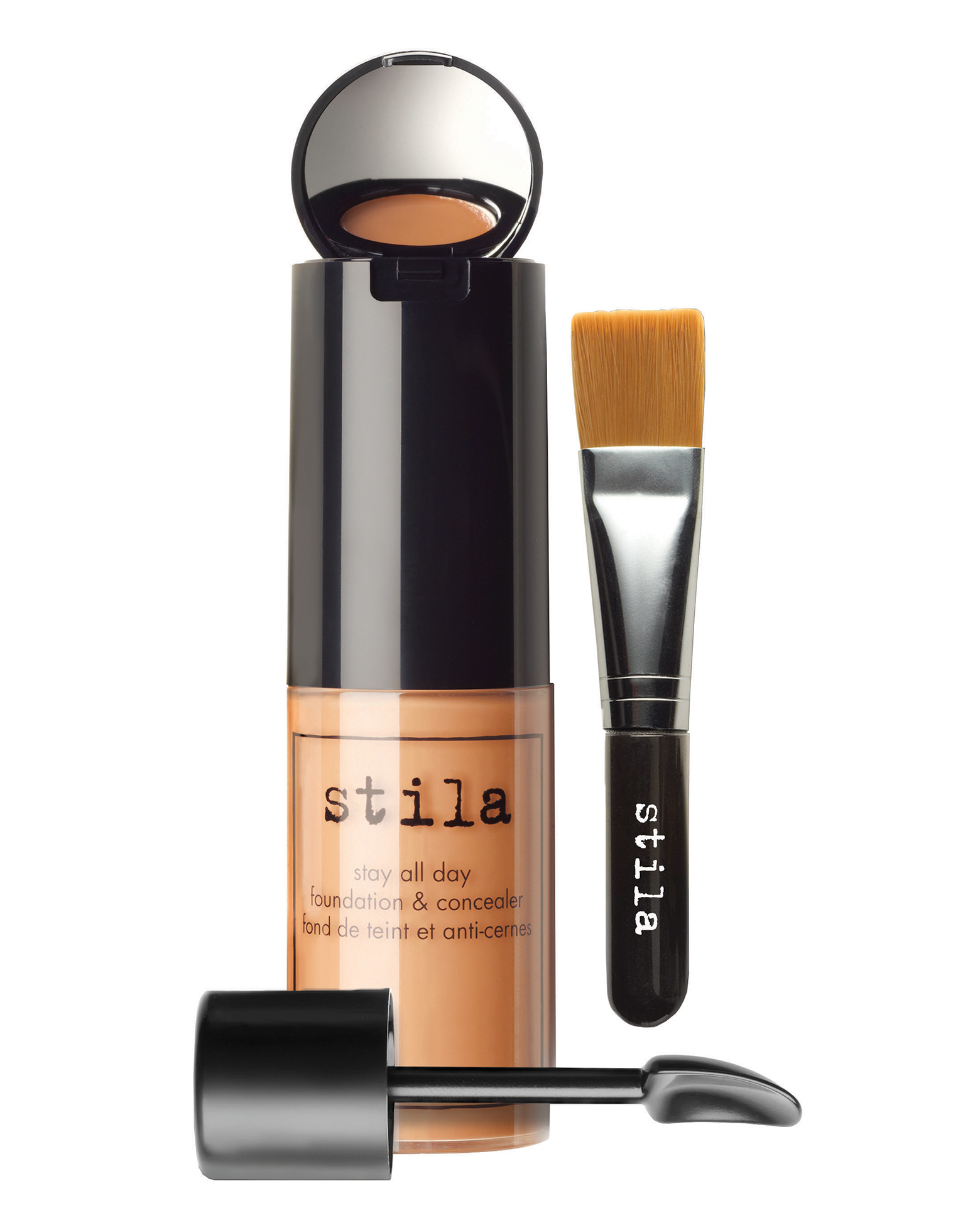 Stay All Day Foundation, Concealer & Brush Kit by Stila ...  Stay All Day Fo...