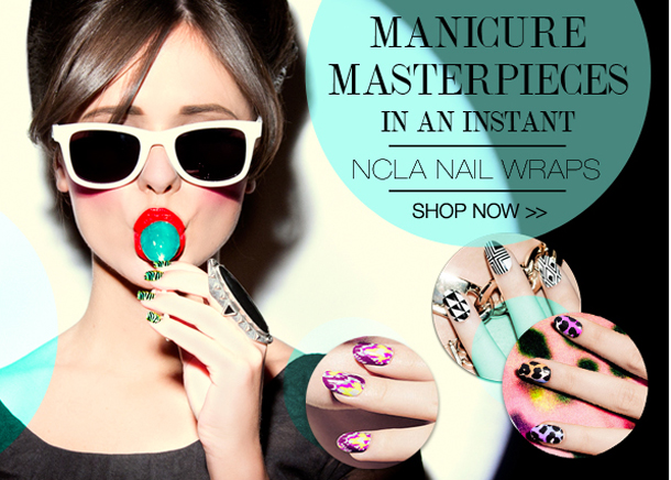 NCLA Nail Wraps cult beauty