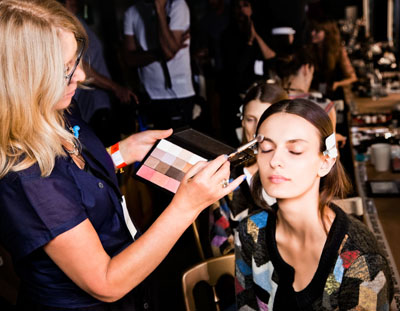 Preen Backstage at London Fashion Week Spring Summer 2013 Collections