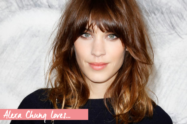 Alexa Chung's Cult Beauty Favourites