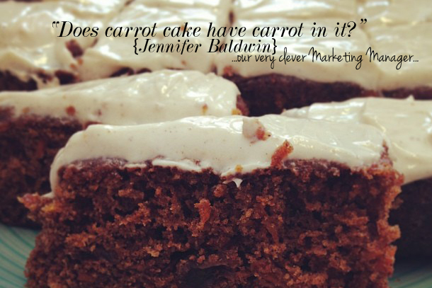 Low Fat Carrot Cake Recipe