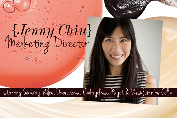 Jenny Chiu - Cult Beauty Marketing Direcotr