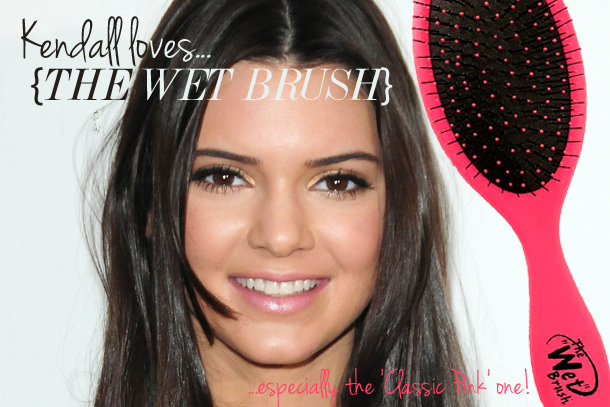 Kendall Jenner The Classic Wet Brush