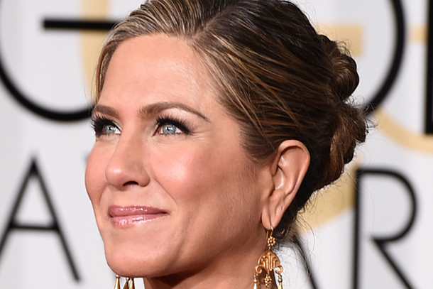 Golden Globes 2015 Jennifer Aniston Hair