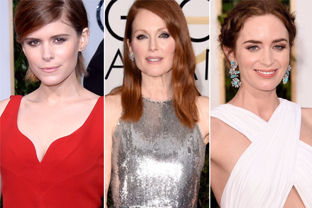 Golden Globes - Kate Mara, Julianne Moore, Emily Blunt