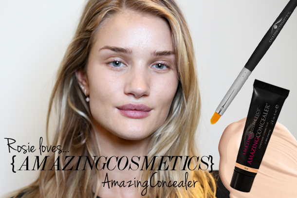 Rosie Huntington-Whiteley loves AmazingConcealer