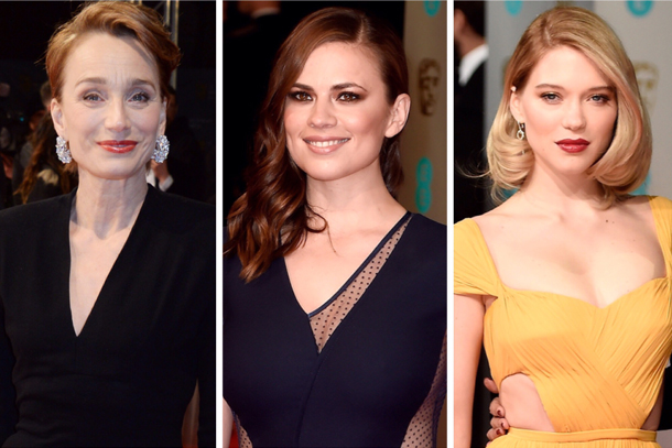 Best BAFTAs Beauty Looks 2015