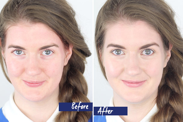 BECCA Flawless Skin Before & After