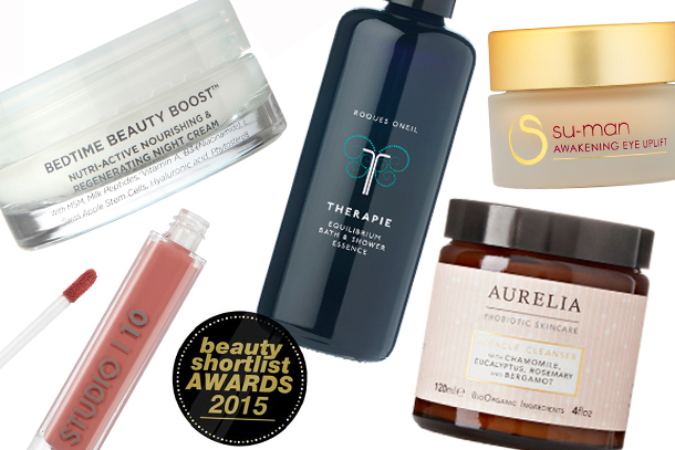 Beauty Shortlist Award Winners 2015
