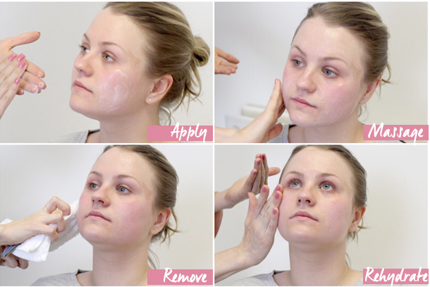 Flash Facial - Step by Step