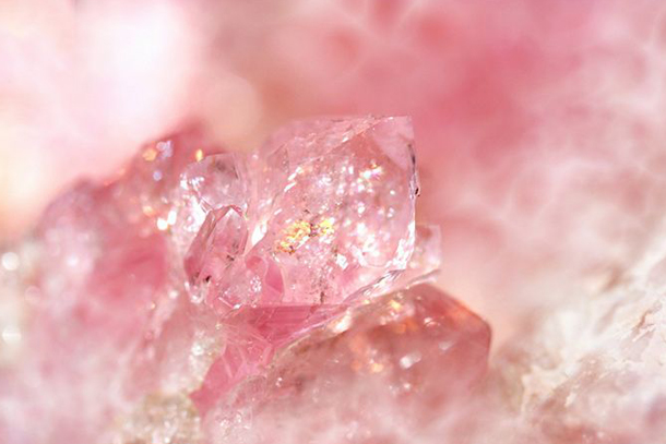 Rose Quartz Crystal - Michelle Roques-O'Neil