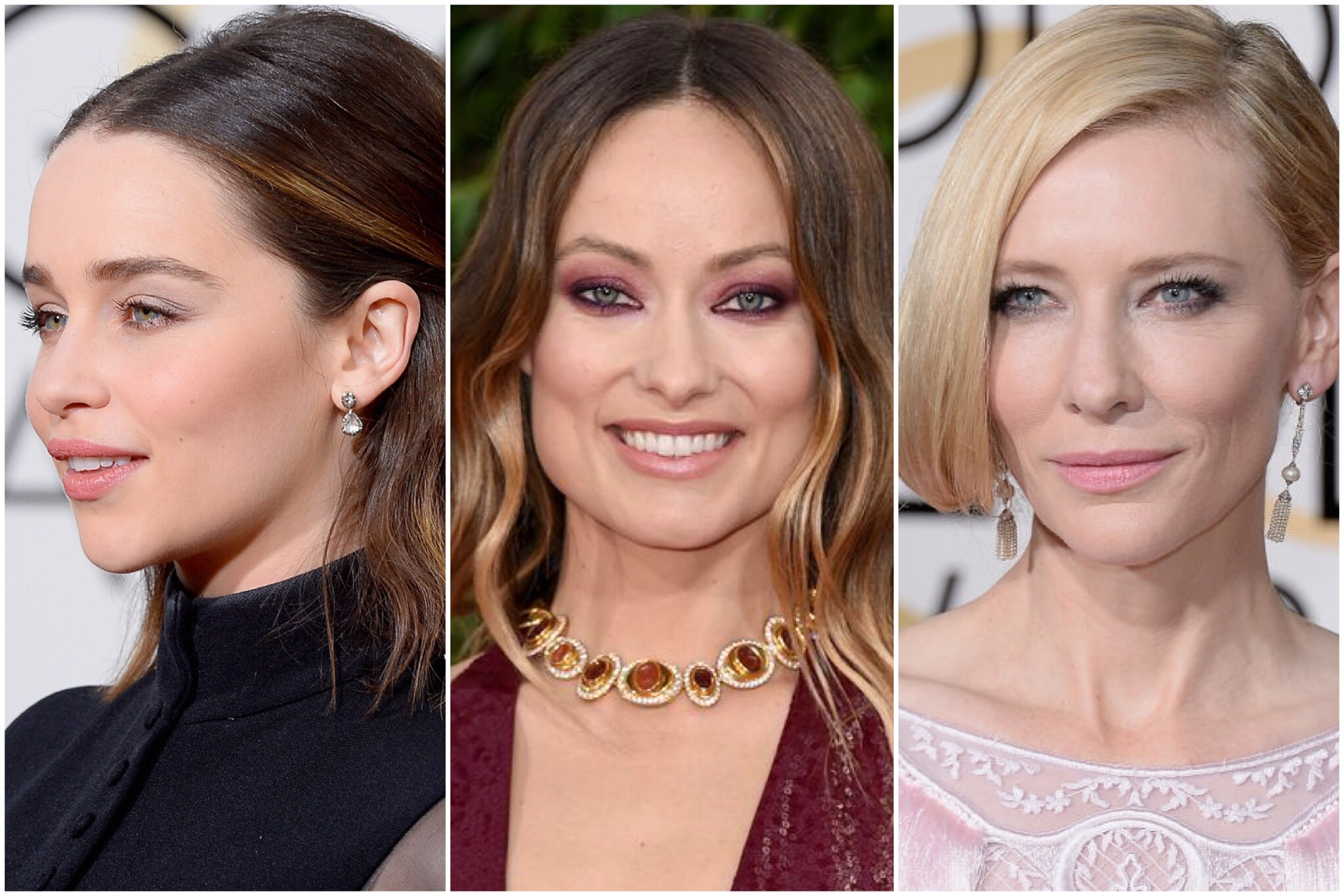 Best Golden Globes 2016 Beauty Looks