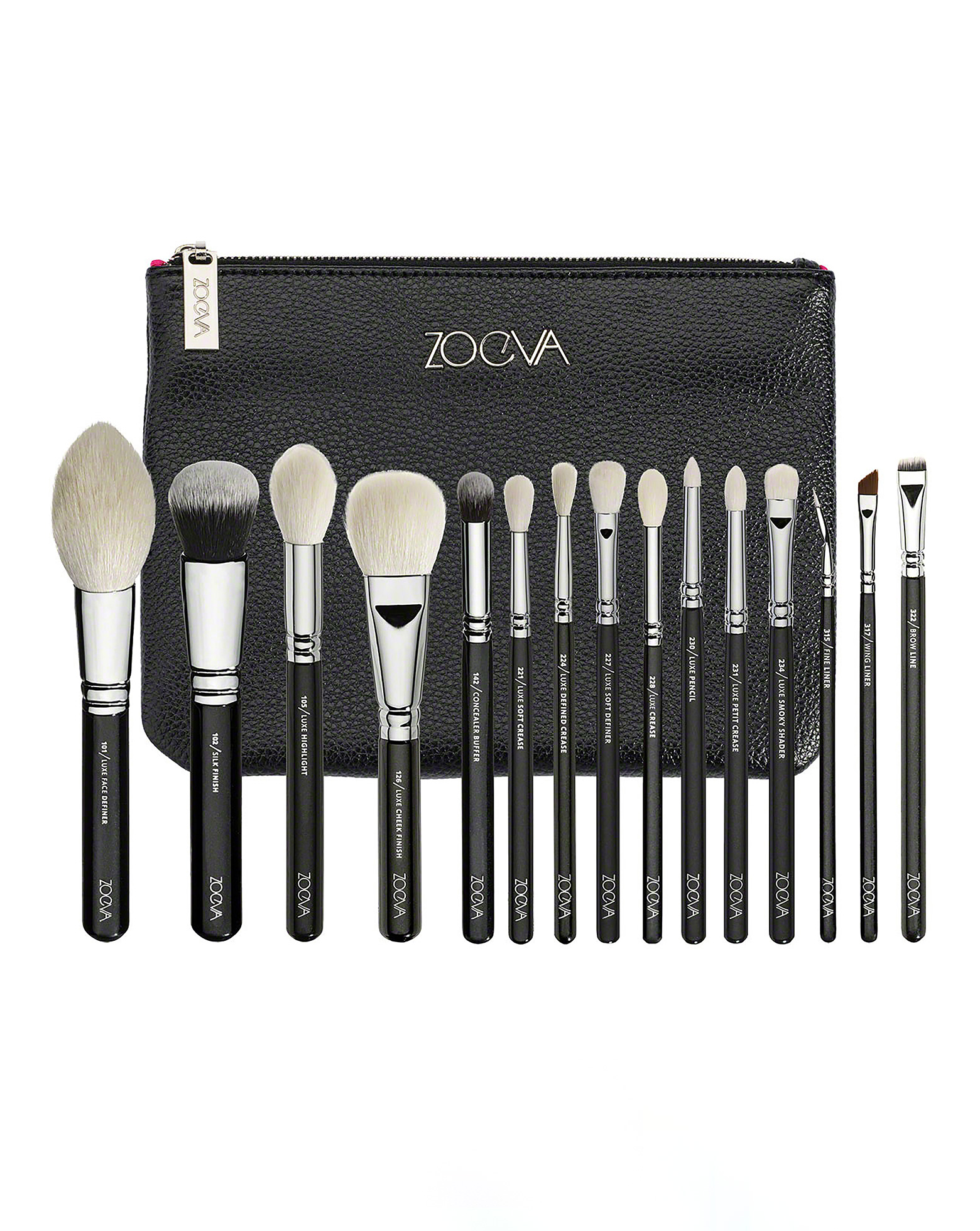 Pro Brush Powder By Nyx Professional Makeup: Luxe Complete Professional Brush Set By ZOEVA